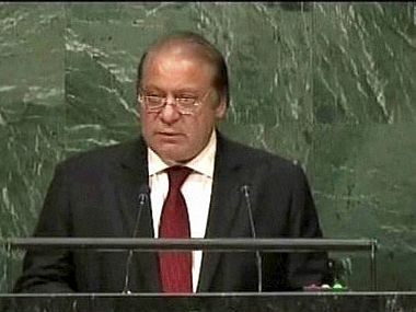 A file photo of Nawaz Sharif. AP