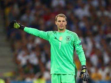 File picture of Manuel Neuer. Getty