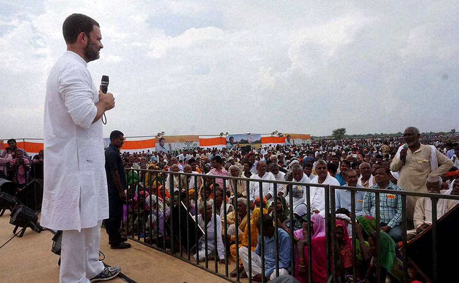 In his response to this earlier fiasco, Rahul Gandhi had said: When a farmer takes a cot, he's called a thief. But when big industrialists like Mallya run away, they are called 'defaulter'. (Photo: PTI)