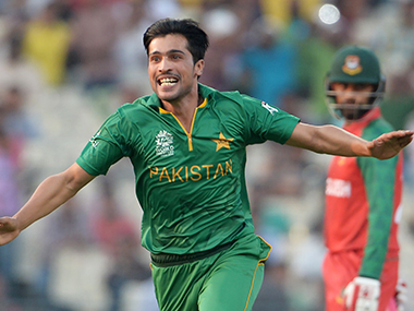 A lot will rely on Mohammad Amir if Pakistan has to win the T20I against England. AFP