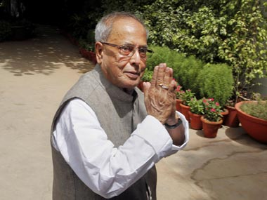 President Mukherjee hopes govt will set up GST Council soon