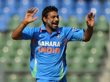 Praveen Kumar last played for India in a one-off T20I against South Africa in 2012. AFP