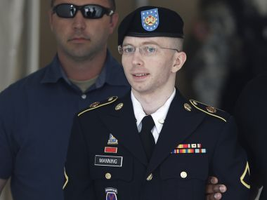 File photo of Bradley Manning. Reuters