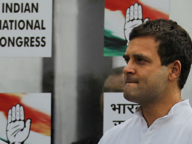 File image of Congress Vice-President Rahul Gandhi. AP
