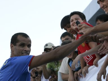 File photo of former Brazil international Rivaldo. Reuters
