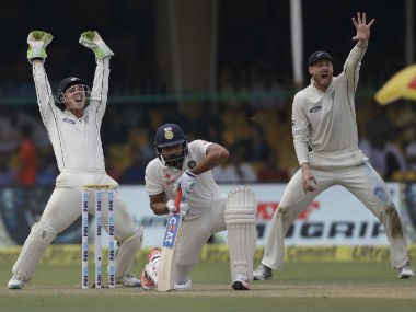India vs New Zealand Highlights Kanpur Test Day 1 Hosts survive day to reach 2919 at stumps
