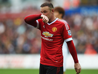 Wayne Rooney was restored to his favoured No 10 position this year, but his form has been poor. Getty Images