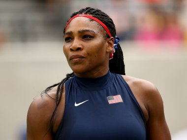 File photo of  Serena Williams of the United States. Getty
