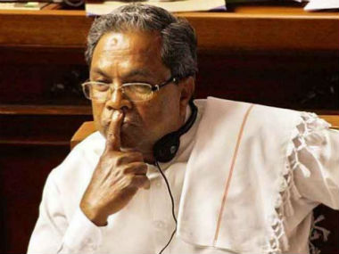 File image of CM Siddaramaiah. CNN-News18