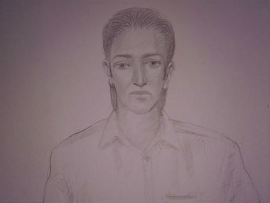 Navi Mumbai Police released a sketch of the person linked with the Uran high alert. Image procured by Sanjay Sawant/Firstpost