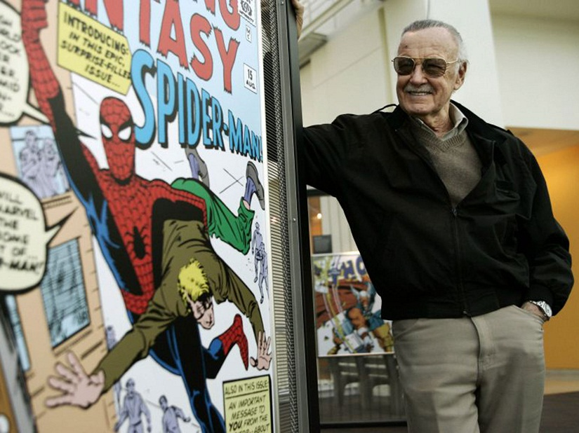 Stan Lee. AP photo