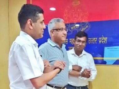 UP DGP Javeed Ahmad. @theRohitBansal/ Twitter