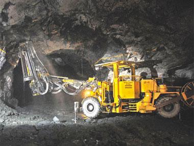 An uranium mine. Image courtesy UCIL