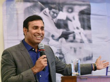 File photo of VVS Laxman. PTI