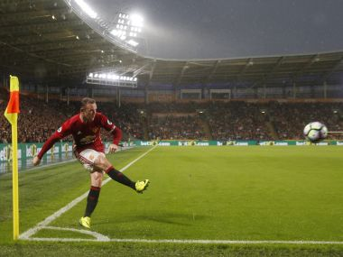 Manchester United's Wayne Rooney. Reuters