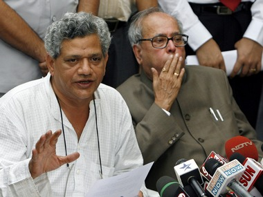 A file photo of Yechury. Reuters