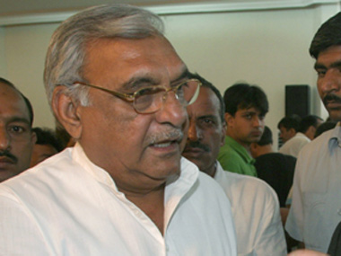 File image of former Haryana chief minister. IBNlive