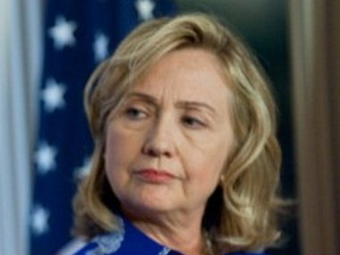 File image of Hillary Clinton. AFP