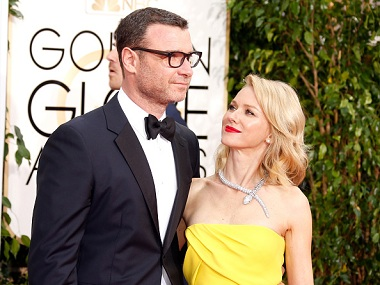 Naomi Watts and Liev Schreiber. Image courtesy: Jeff Vespa/ Getty Images