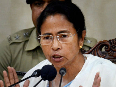 File image of Bengal Chief Minister Mamata Banerjee. PTI