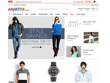 Myntra eyes 25 lakh new users expects 5 times sales during Big Billion Days sale