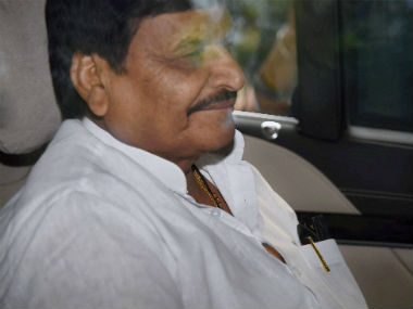 A file photo of Shivpal Yadav. PTI