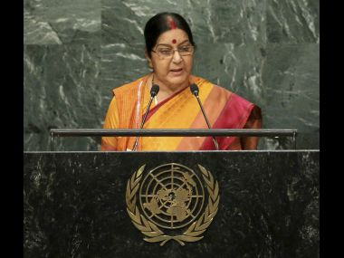 Sushma Swarajs rebuttal to Nawaz Sharif Pathankot Uri proof of Pakistans complicity in terrorism
