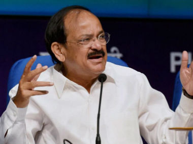 File photo of Union Minister Venkaiah Naidu. PTI