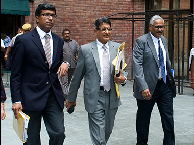 File photo of the Lodha Committee. Image Credit: Naresh Sharma/Firstpost