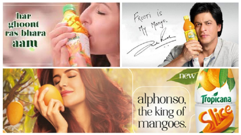 Katrina Kaif must simulate oral sex with a mango drink bottle. Shah Rukh Khan can get away with treating it merely as an ice pack.