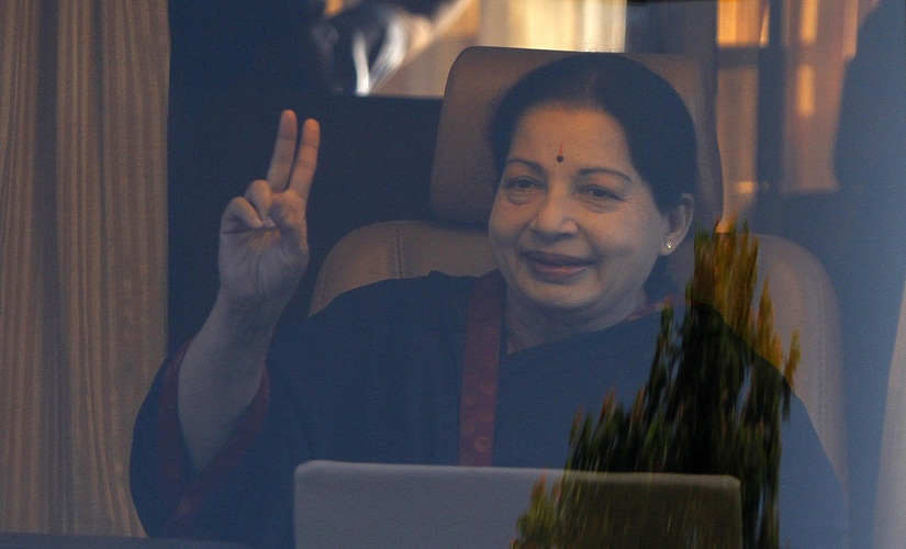 Jayalalithaa claims to have taken rebirth appeals to people to vote for AIADMK