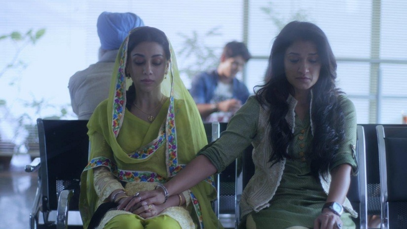 Amrita Puri & Sandya Mridul as Harleen Singh & Nazneed Khan in the show P.O.W. Bandi Yuddh Ke