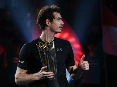 Andy Murray's Shanghai Masters victory has made him inch even closer to the No 1 spot. AFP