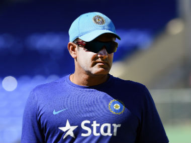 File photo of head coach Anil Kumble. AFP