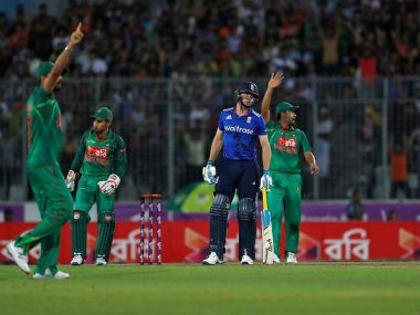 The suspect was detained on Friday during the first ODI against England. Reuters