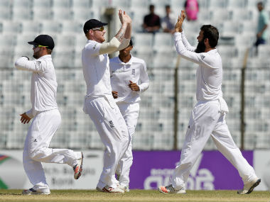 England will hope to 1-0 up in the series by the end of the fourth day. AP