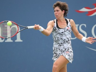 File photo of Carla Suarez Navarro. Reuters