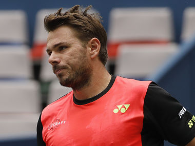 Stan Wawrinka of Switzerland. AP