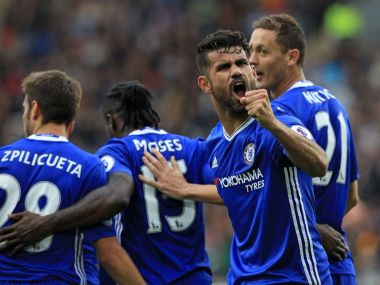 Diego Costa scored his sixth Premier League goal as Chelsea returned to winning ways against Hull City. Image Courtesy: Twitter@ChelseaFC