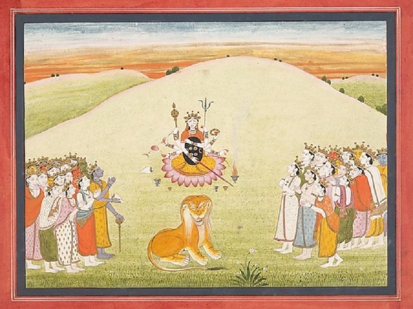All Hail the Divine Goddess — Mahadevi. Image courtesy: metmuseum.org