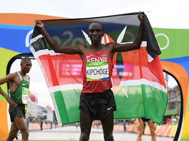 File photo of Eliud Kipchoge. Getty Images