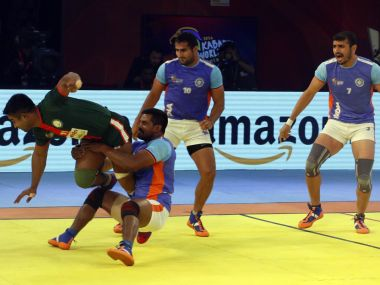 India put on an impresive show to crush Bangladesh in the Kabaddi World Cup. Image COurtesy - Twitter@StarSports