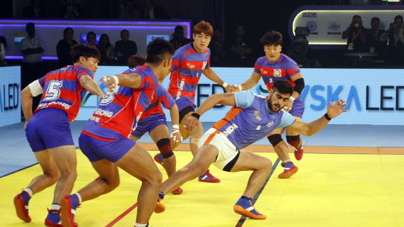 South Korean defense shackled Rahul Chaudhari in the opening game