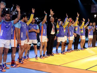 India were flawless in their 69-18 win over England. Twitter@StarSports