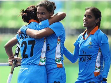 File photo of Indian Women Hockey team. Getty Images