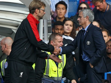 Jurgen Klopp had the better of Jose Mourinho last year when the latter was at Chelsea. AFP