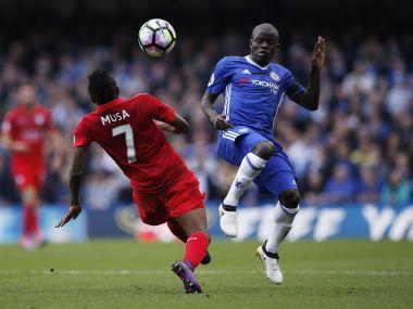 Chelsea's N'Golo Kante. Reuters