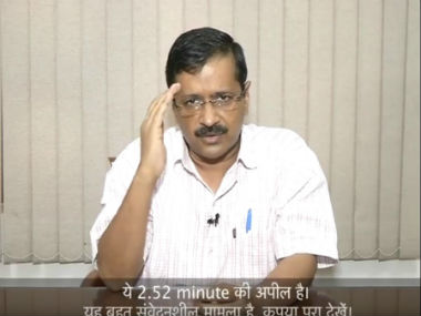 Arvind Kejriwal praised PM Modi and the Indian Army for the surgical strikes. Screenshot from YouTube video.