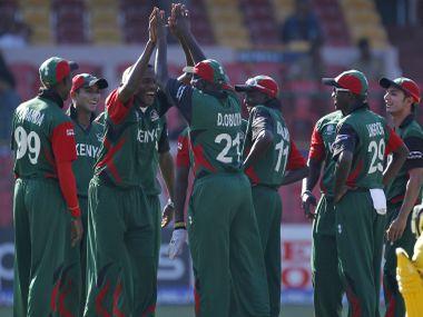 File photo of the Kenya cricket team. Reuters