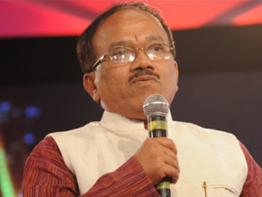 File photo of Goa CM Laxmikant Parsekar. PTI
